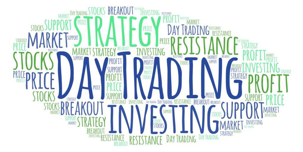 Várias palavras aparecem sendo que day trading está em destaque, uma das formas de escrever day trade