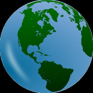 globo terrestre para sinalizar os investimentos offshore